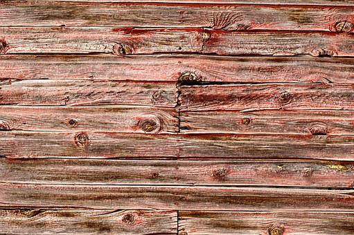 Barnwood Texture, Red Barnwood, Wood Background, Wood