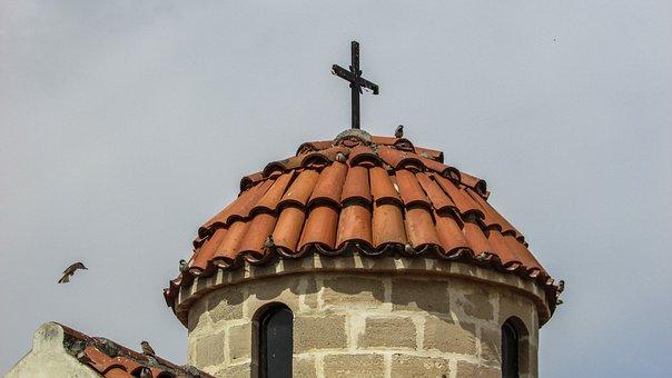 Cyprus, Xylotymbou, Ayios Ionas, Church, Orthodox