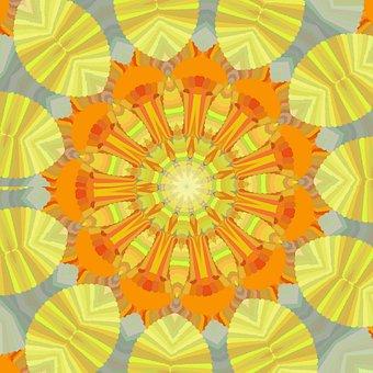 Sunshine, Sunny, Sun, Abstract, Yellow, Bright