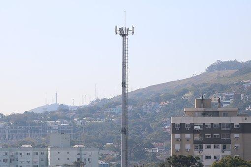 Antenna, Tower, Cellular, Communication