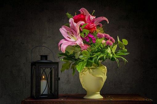 Bouquet, Floral Arrangement, Botany, Violet, Flora