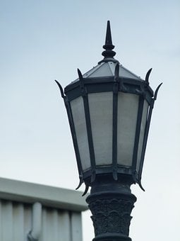 Lamp, Street, Light, Lampost, Post, Lantern, Pole