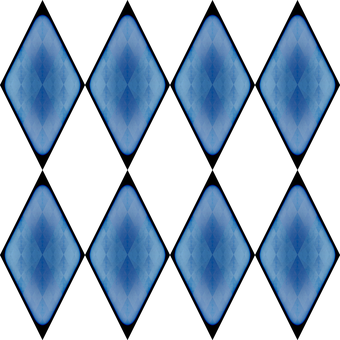 Rhomboid, Rhombus, Geometric, Shape, Design, Checkered