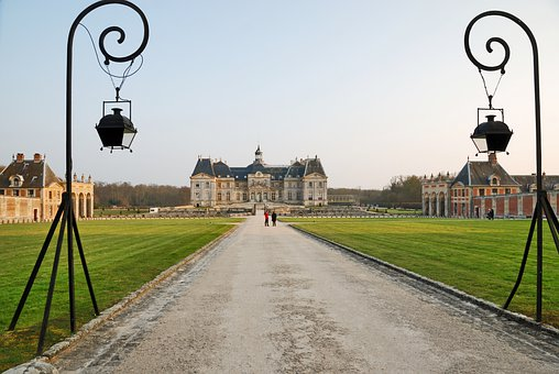 Castle, Palace, Building, Architecture, France, Europe