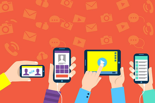 Cellphones, Devices, Smartphones, Hands, Group