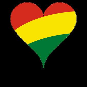 Heart, Love, Flag, Bolivia