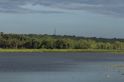 Nature, Landscape, Water, River, Lake, Pond, Sky
