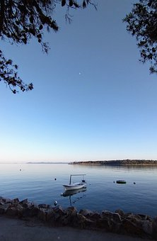 Boat, Water, Lake, Rivier, Croatia, Korcula, Adriatic