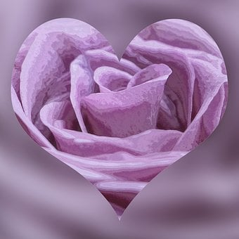 Heart, Romance, Purple, Valentine's Day, Love