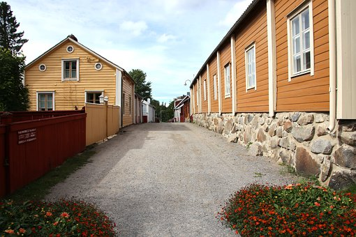 City, Old, Street, Tourism, Architecture, Wooden House