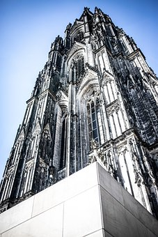 Cologne Cathedral, Tower, Cathedral, Cologne, Church