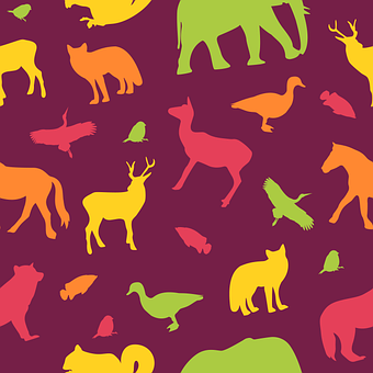 Pattern, Animals, Seamless, Background, Texture