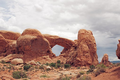 Stone, Arches, Arch, Utah, Ut, National, Park, Nature