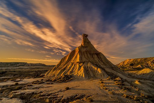 Desert, Rock, Spain, Drought, Sand, Dry, Landscape