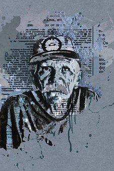 Man, Male, Elder, Cap, Head, Face, Wrinkles, Person