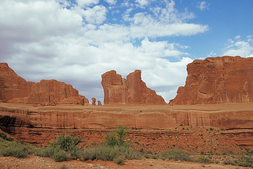Stone, Mountain, Hill, Stone Formation, Arches, Arch