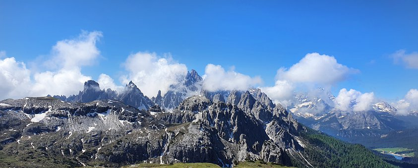 Alpine, Dolomites, Mountains, Panorama, National Park