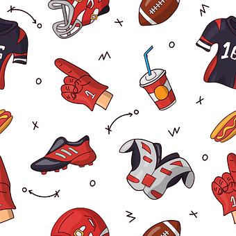 Pattern, Sports, Seamless, Background, Texture, Desktop