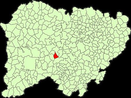Abusejo, Municipality, Map, Province Of Salamanca