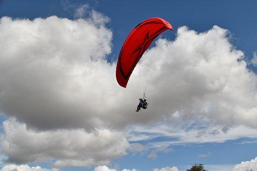 Paragliding, Paraglider, Figure Of Paragliding