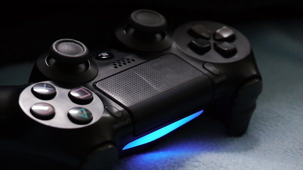 Sony, Playstation, Ps4, Controller, Gaming