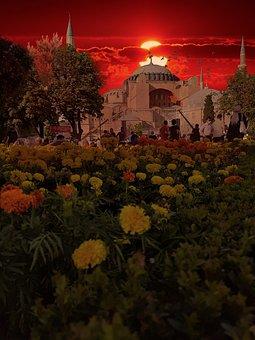 Hagia Sophia, Cami, Mosque, Offer, Islam, Istanbul