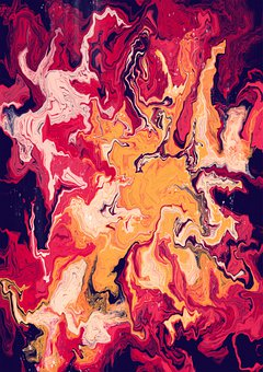 Marble, Marbling, Liquid, Colorful, Art
