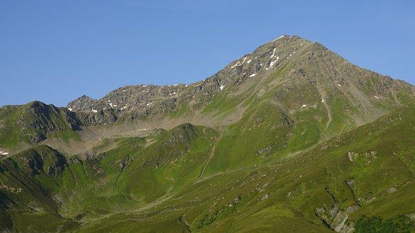 Mountain, Hills, Grass, Moss, Mossy