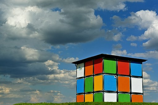 Pump House, Water Management, Magic Cube, Rubik