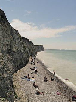 Beach, People, Rocks, Rocky Coast, Coast
