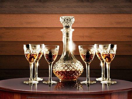 Table, Bottle, Drinks, Wine, Toast, Alcohol