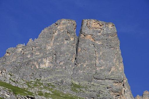 Mountains, Summit, Rocks, Alps, Alpine