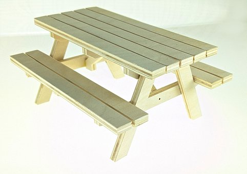 Wood, Picnic Table, Furniture, Bench, Table