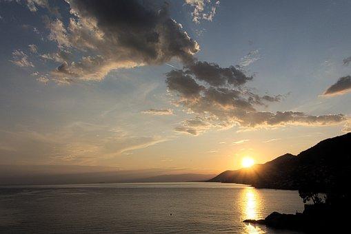 Sea, Shore, Coast, Recco, Camogli, Genoa, Liguria