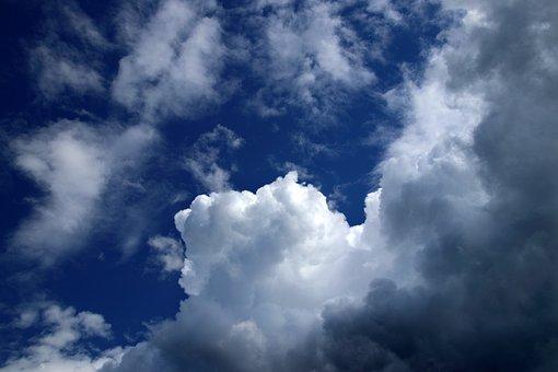 Clouds, Sky, Cumulus, Atmosphere, Weather, Cloudscape