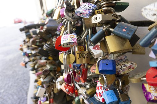 Locks, Bridge, Landmark, Destination, Love, Lovers