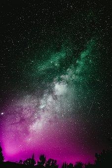 Sky, Star, Galaxy, Universe, Stars, Night, Cosmos