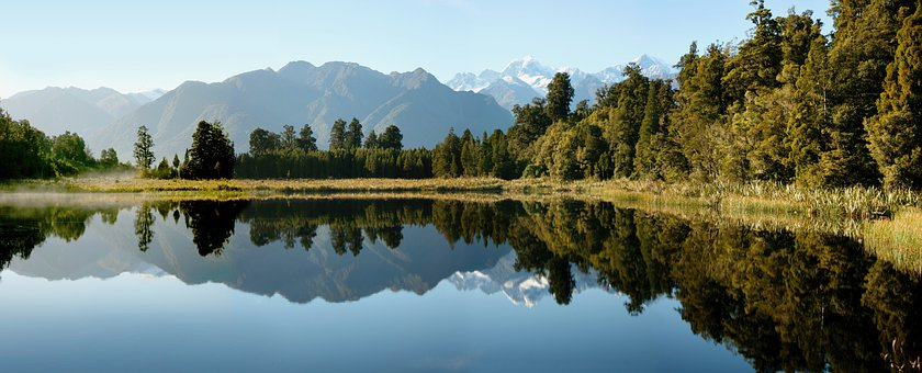 Mount Cook, Mountains, Lake, Reflection, New Zealand