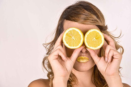 Lemon, Women, Citric, Model, Yellow, Beauty, Admiration