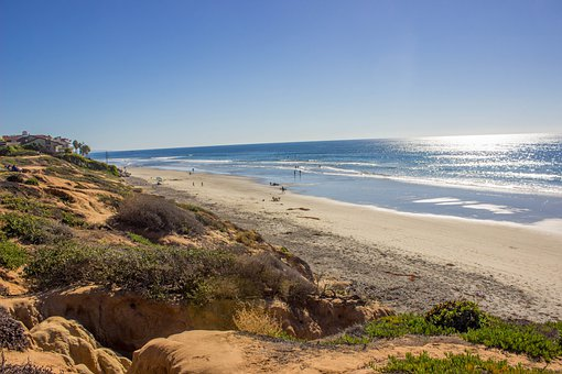 Beach, Ocean, Sand, Sea, Sky, Travel, Water, Nature