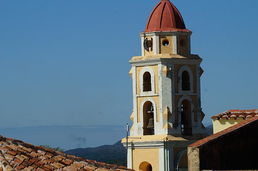 Church, Tower, Dome, Architecture, Colonial, Heritage