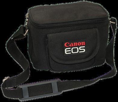 Bag, Carrier Bag, Camera Bag, Black, Strap