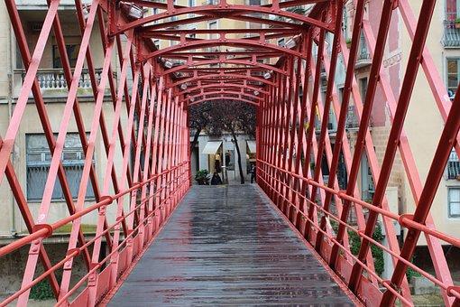 Bridge, Structure, Exterior, City, Spain, Catalonia