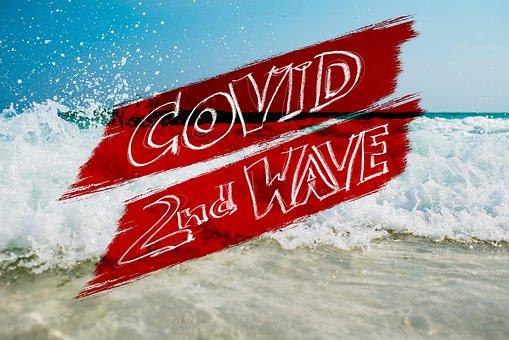 Covid-19, Corona, Second, Wave, Sea, Surf