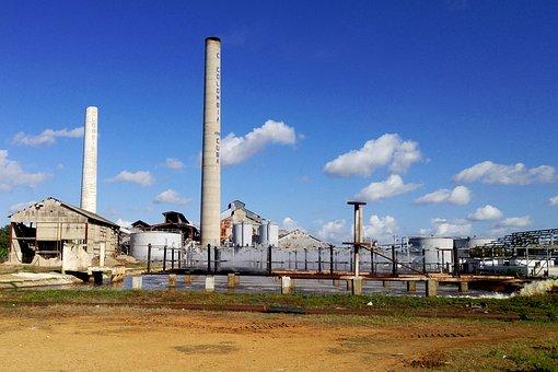Factory, Building, Sugar Factory, Central, Camagüey