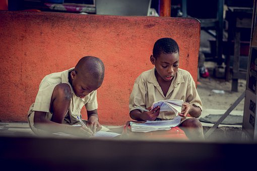 Children, Students, School, Books, Notes, Learning