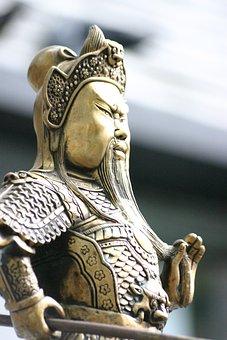 Statue, Figure, Bust, Warrior, Character, Sword