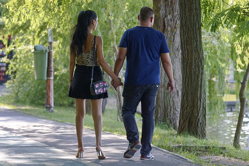 The Young Couple, Girl, The Boy, Hands, The Walking