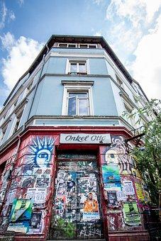 Building, Graffiti, Architecture, Art, Street Art