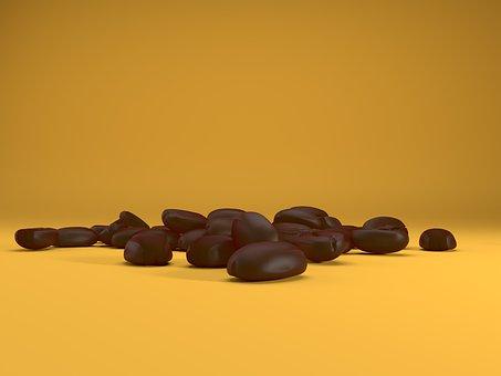 Coffee, Coffee Beans, Beans, Caffeine, Fresh, Mocha